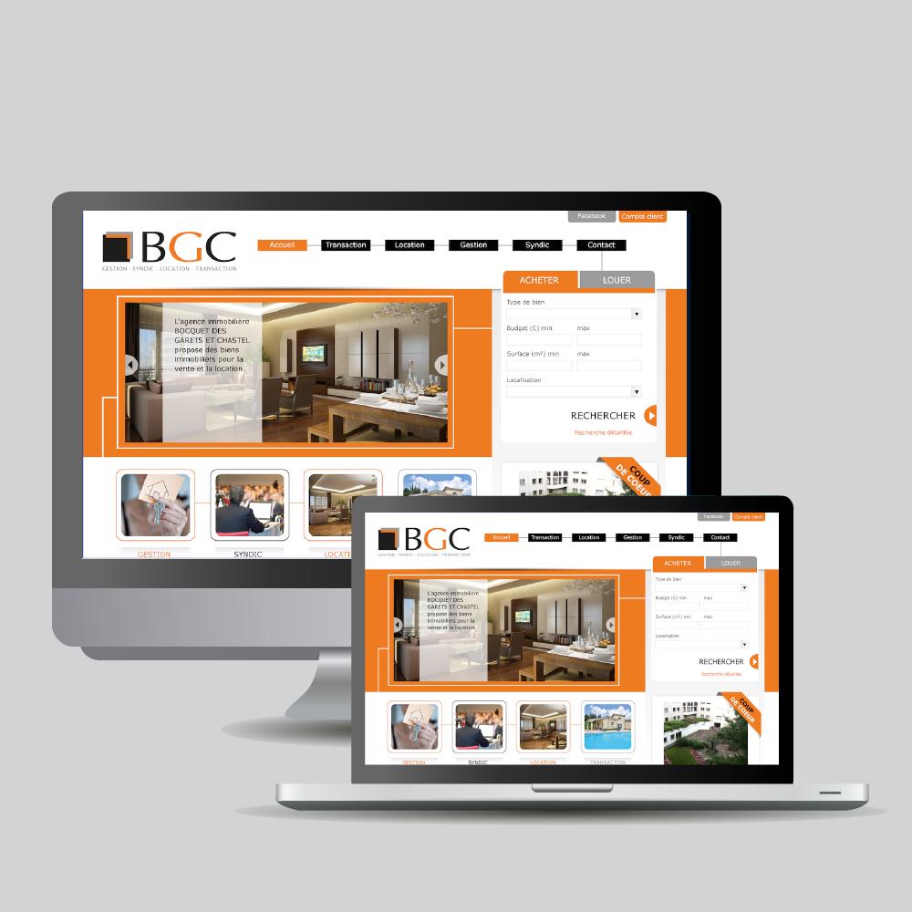 site web régie BGC