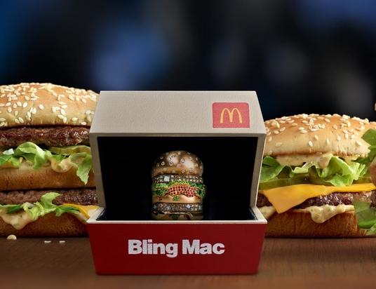 McDonald's USA et son BlingMacChallenge
